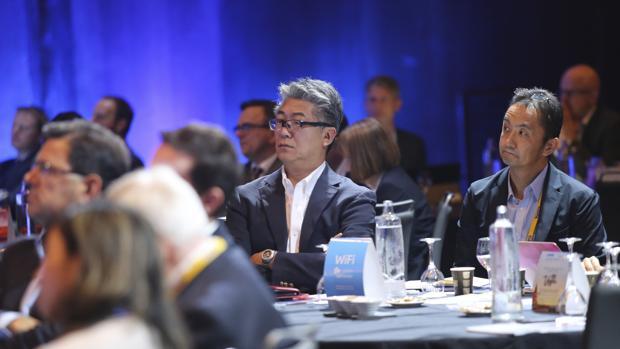 Asistentes al congreso de aerolíneas CAPA del año pasado