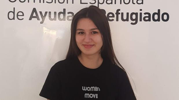 Lia Montrechko, la joven premiada por su expediente