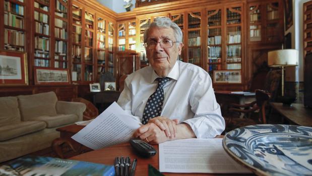 El arquitecto Rafael Manzano