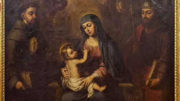 El cuadro de la Virgen del Consuelo, de Alonso Miguel de Tovar (1720)
