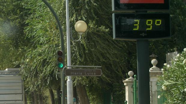 Termómetro en Sevilla