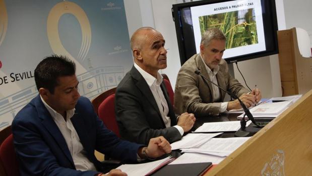 Antonio Muñoz, durante la rueda de prensa tras el consejo de Urbanismo