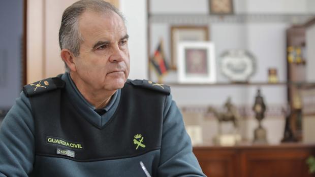 El general Contreras, en la última entrevista concedida a ABC Sevilla