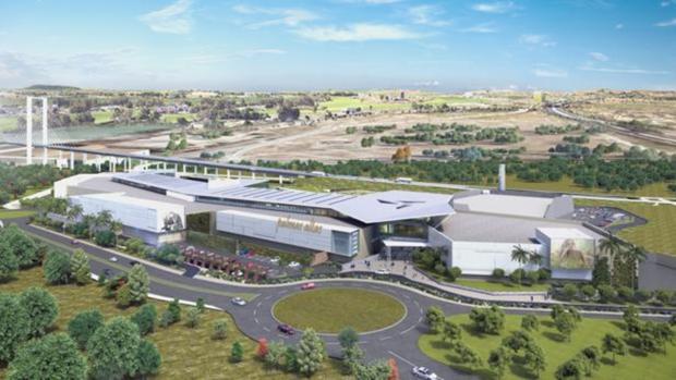 Centro comercial y de ocio Lagoh, que abre sus puertas este viernes en Sevilla