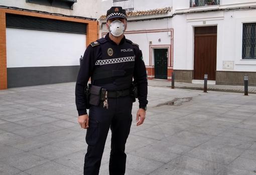 Miguel, agente de la Policía Local de Sevilla
