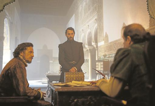 «La peste», en una escena grabada en el Alcázar