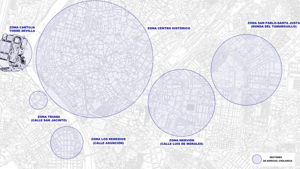 Así será el plan de tráfico para la Navidad del coronavirus en Sevilla