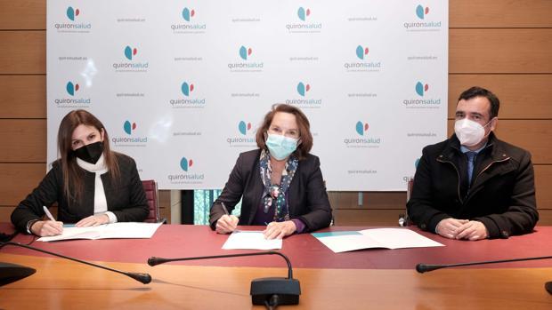 Los hospitales Quirónsalud Sagrado Corazón y San Agustín firman un acuerdo para la atención a partos