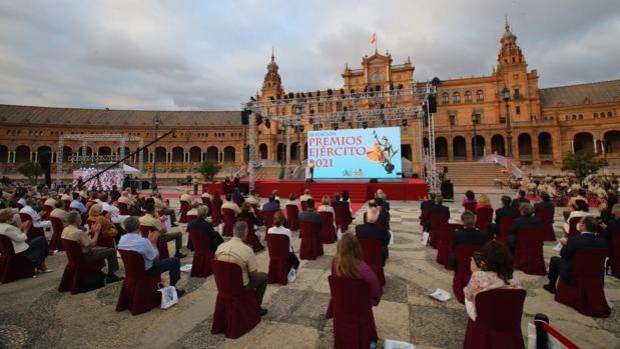 El Ejército de Tierra celebra en Sevilla la 58 edición de los 'Premios Ejército'