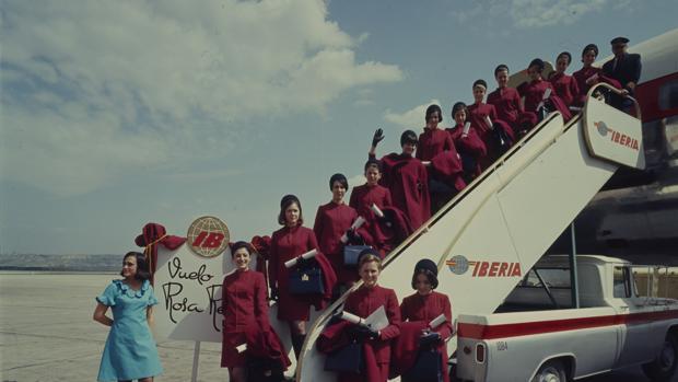 Aeropuerto de Barajas, Madrid, Abril de 1968