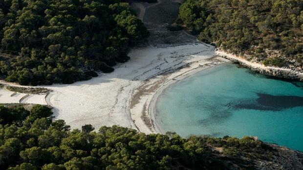 Playa S'Amarador en Santanyí (Baleares)