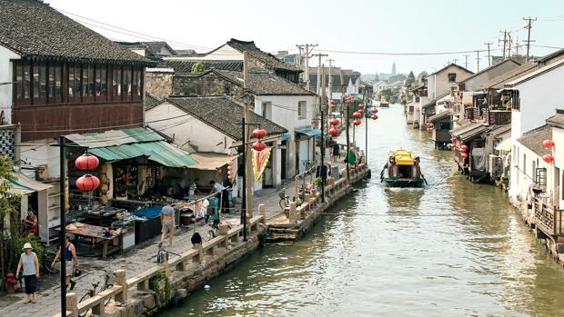 La ciudad china de Suzhou, también conocida como «La Venecia Oriental»